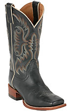 Nocona® Ladies Black Traditional Western Square Toe Boots