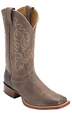 Nocona® Men's Tan Brown Vintage Cow Double Welt Square Toe Western Boots