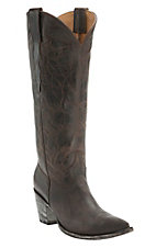 Old Gringo Yippee Ki Yay Women's Chocolate Thunder Cat Tall Snip Toe Western Fashion Boots
