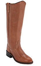 Old West® Ladies Antique Tan Barnwood Equestrian Tall Boot