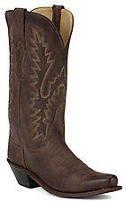 Old West® Ladies Classic Chocolate Mad Dog Snip Toe Western Boot