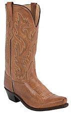 Old West® Men's Tan Mad Dog Snip Toe Western Boot