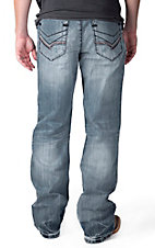 Petrol Men's Colton Light Wash Relaxed Fit Boot Cut Jean