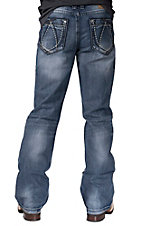 Petrol Men's Zach Medium Wash Boot Cut Jean