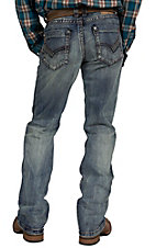 Petrol Men's Peyton Medium Wash Regular Fit Boot Cut Jean