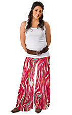 See You Monday® Women's Multicolor Palazzo Pants