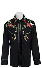 Scully� Western Legends? Mens Jerrico Black Retro Shirt