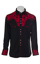Scully® Western Mens Shirt P634CRI