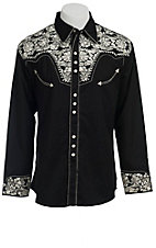 Scully® Western Mens Shirt P634SIL