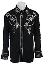Scully® Western Mens Shirt P706BLK