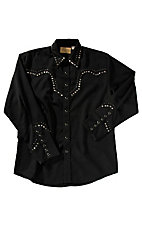 Scully® Western Mens Shirt P748BLK