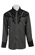 Scully® Western Mens Shirt P786GRY