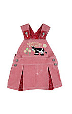 Wrangler® All Around Baby™ Girls Red & White Barnyard Baby Skirtall