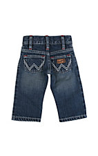 Wrangler® All Around Baby™ Boy's Tractor Patch w/ White W Pocket Jeans
