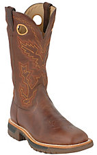 Rocky Boots® Men's Brown Rocky Ride Square Toe Western Work Boot