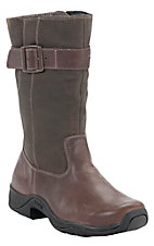 Rocky� Barnstormer Ladies Chocolate Distressed Water Proof Round Toe Boot
