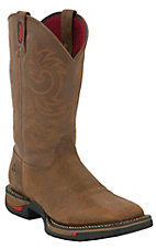 Rocky® Long Range™ Men's Trail Brown Square Toe Work Boots