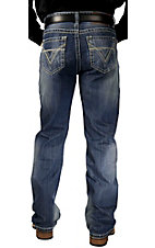 Rock & Roll Cowboy® Medium Stonewash Pistol Relaxed Fit Boot Cut Jeans