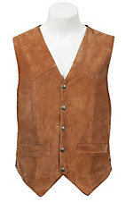 Scully® Tan Suede Western Cut Vest
