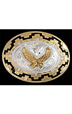 3-D Belt Company®   Soaring Eagle with Black Accents