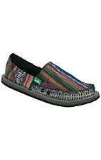 Sanuk® Donna™ Ladies Multi Color Fiesta Canvas Sidewalk Surfer Shoes