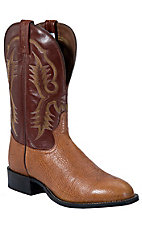 Tony Lama® Men's Aztec Shrunken Shoulder Stockman Boots