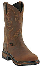Tony Lama® Mens Cheyenne Waterproof Steel Toe Work Boot