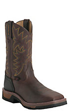 Tony Lama TLX Men's Work Bark Badger Composite Square Toe Work Boots