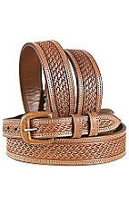 Vogt® Brown Russet Basketweave Belt