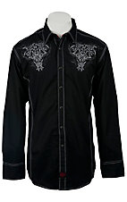Panhandle Slim 90 Proof Men's L/S Western Snap Shirt V6S1331
