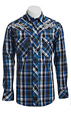 Panhandle Slim 90 Proof Men's L/S Western Snap Shirt V6S3398