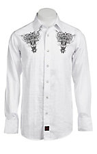 Panhandle Slim 90 Proof Men's L/S Western Snap Shirt  V6S3405