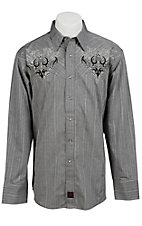 Panhandle Slim 90 Proof Men's L/S Western Snap Shirt V6S3406