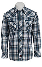 Panhandle Slim 90 Proof Men's L/S Western Snap Shirt V6S3418