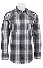 Panhandle Slim 90 Proof Men's L/S Western Snap Shirt V6S4502