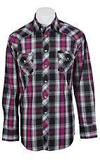 Panhandle Slim 90 Proof Mens L/S Western Snap Shirt V6S7221