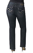 Silver Jeans® Women's Dawson Flap Pocket Boot Cut Jean 32in Inseam- Plus Size
