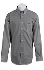 Cinch Men's Flame Resistant Stripe Workshirt W3001004
