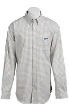 Cinch® Men's Flame Resistant Check Workshirt W3001008