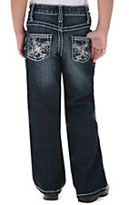 Rock 47™ by Wrangler® Girls' Silver Stud Cross Jean - Sizes 7-14 Slim Fit
