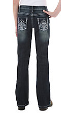 Rock 47™ by Wrangler® Girls' Jingle Rock Jean - Sizes 7-14 Regular & Slim Fit