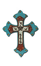 Montana Silversmiths® Turquoise Studded Wall Cross