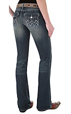 Rock 47™ by Wrangler® Women's Silent Night Ultra Low Rise Jeans