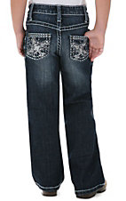 Rock 47™ by Wrangler® Girls' Silver Stud Cross Jean - Sizes 4-6 Slim Fit