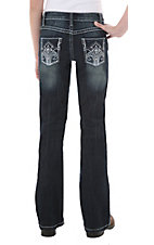 Rock 47™ by Wrangler® Girls' Jingle Rock Jean - Sizes 4-6 Regular & Slim Fit