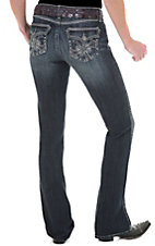 Rock 47™ by Wrangler® Women's Sideways Cross Flap Low Rise Jeans