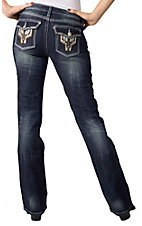 Rock 47™ by Wrangler® Women's Ginger Sprinkles Low Rise Jeans