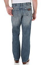Wrangler Retro Men's Break Barriers Wash Boot Cut Jean- Tall Length