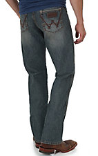 Wrangler Retro Men's Gasoline Wash Boot Cut Jean
