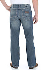 Wrangler Retro Men?s Premium Patch Double Your Money Wash Slim Fit Jeans
